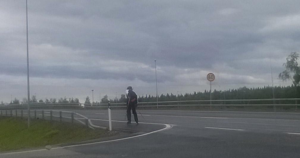 bezkove lyzovani ve finsku v lete