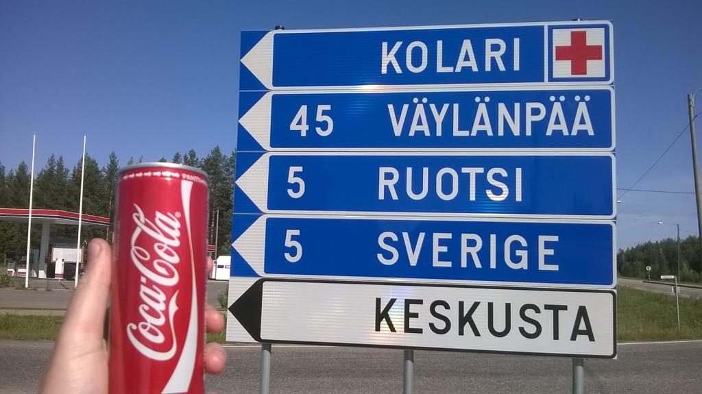 sever finska autem