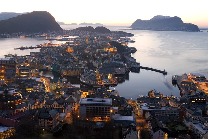 Ålesund v norsku