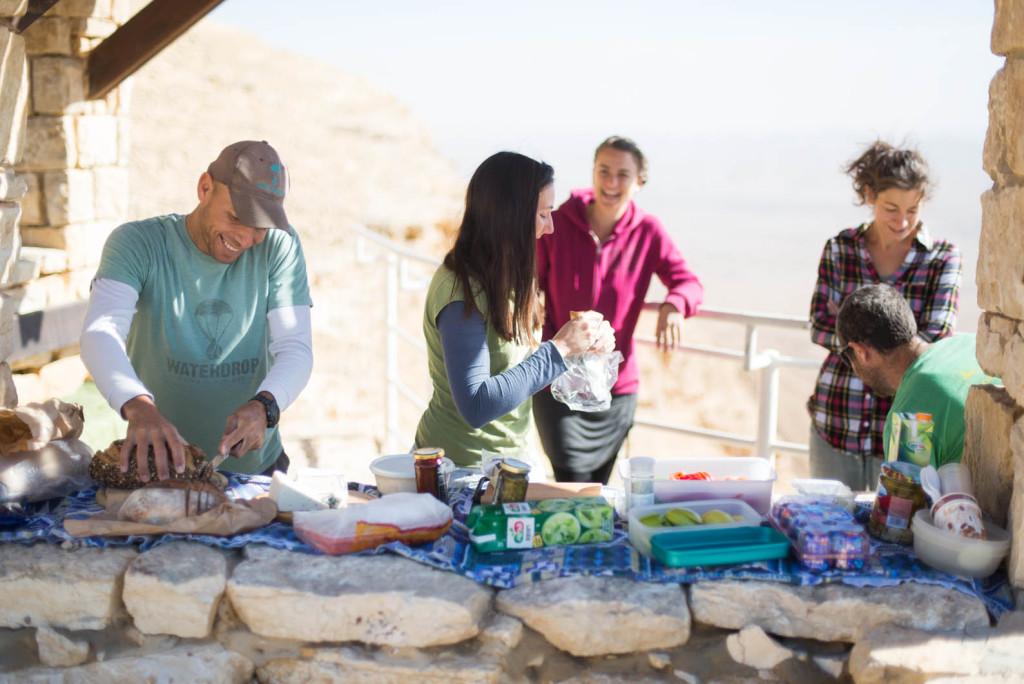 party v negevské poušti