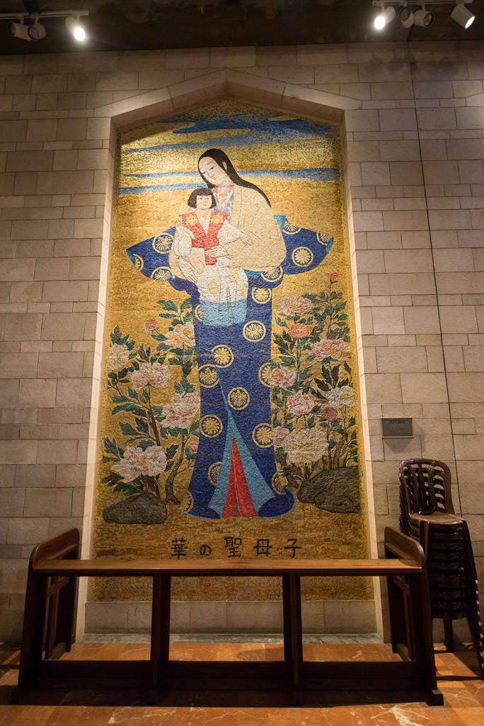 DSC_5930mozaika v bazilice zvestovani