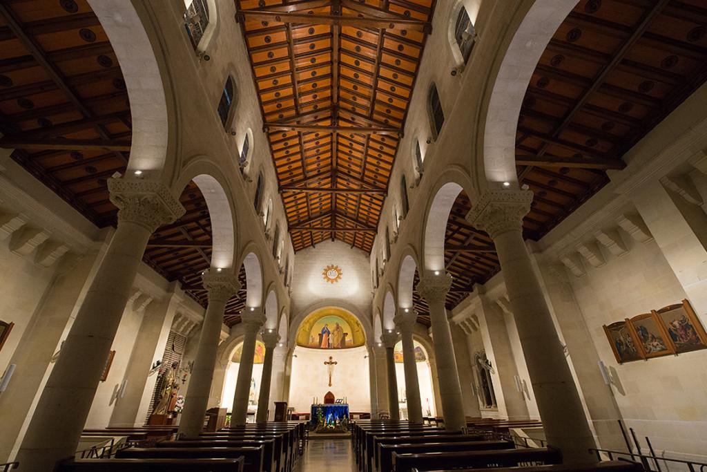 kostel bazilika zvestovani
