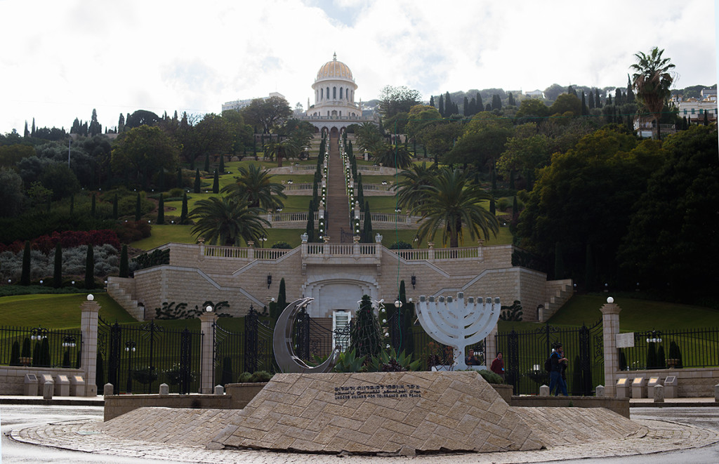 bahaiske zahrady haifa