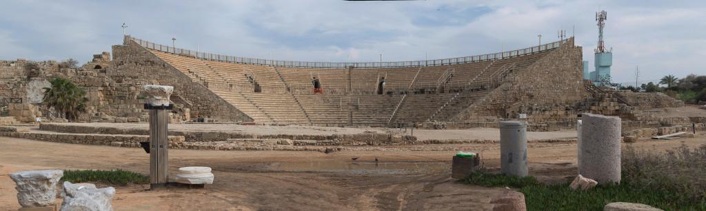 caesarea divadlo koloseum izrael