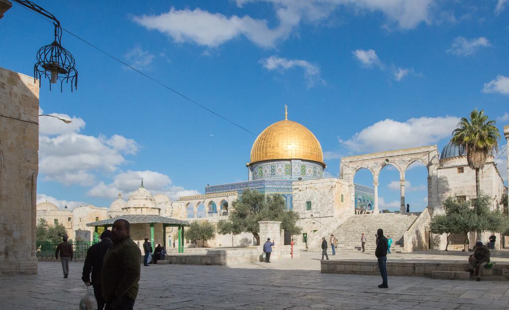 Skalní dóm jeruzalém izrael