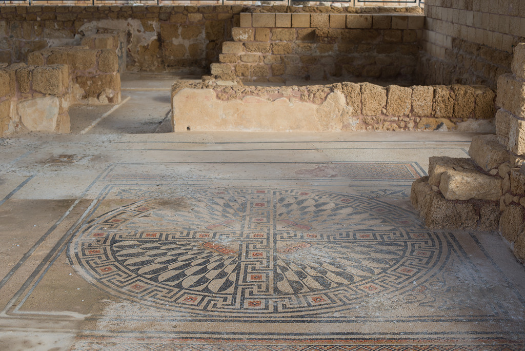 mozaika israel caesarea