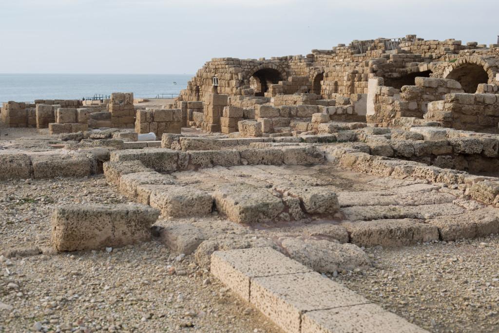 rimske mesto cesarea izrael