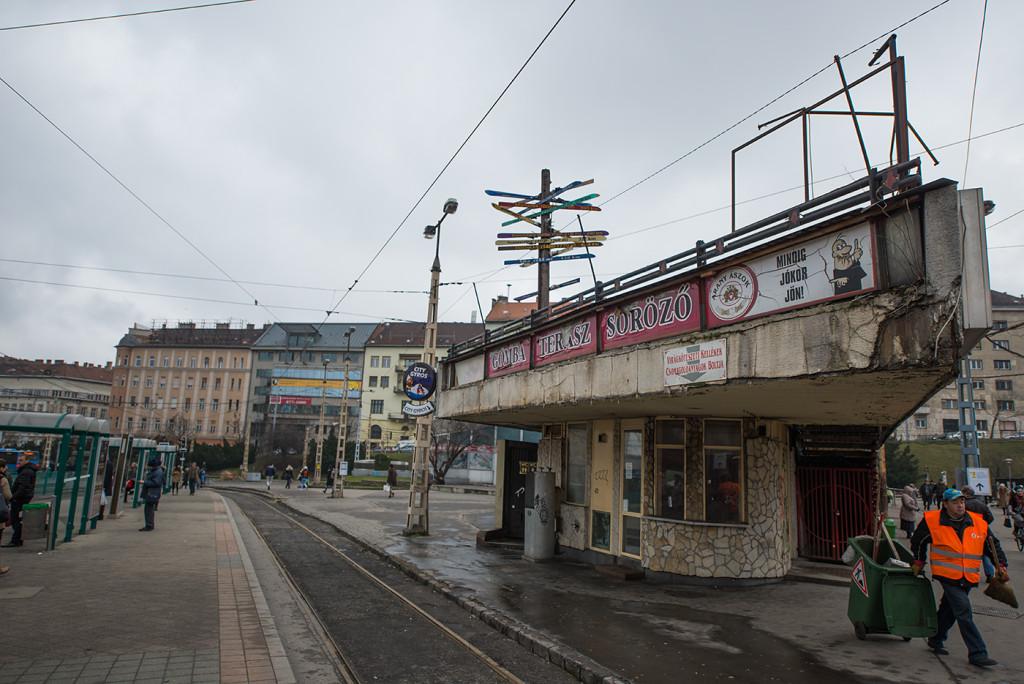 tramvaj budapest madarsko