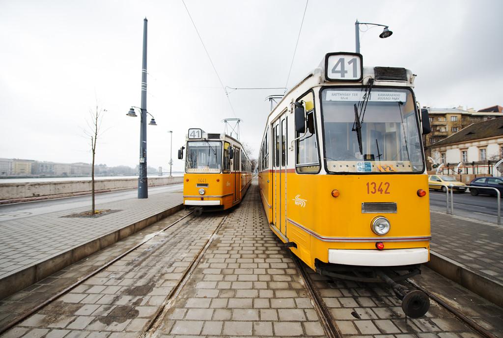 tramvaj budapest