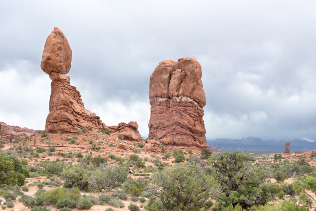 Ballanced rock, NP Arches