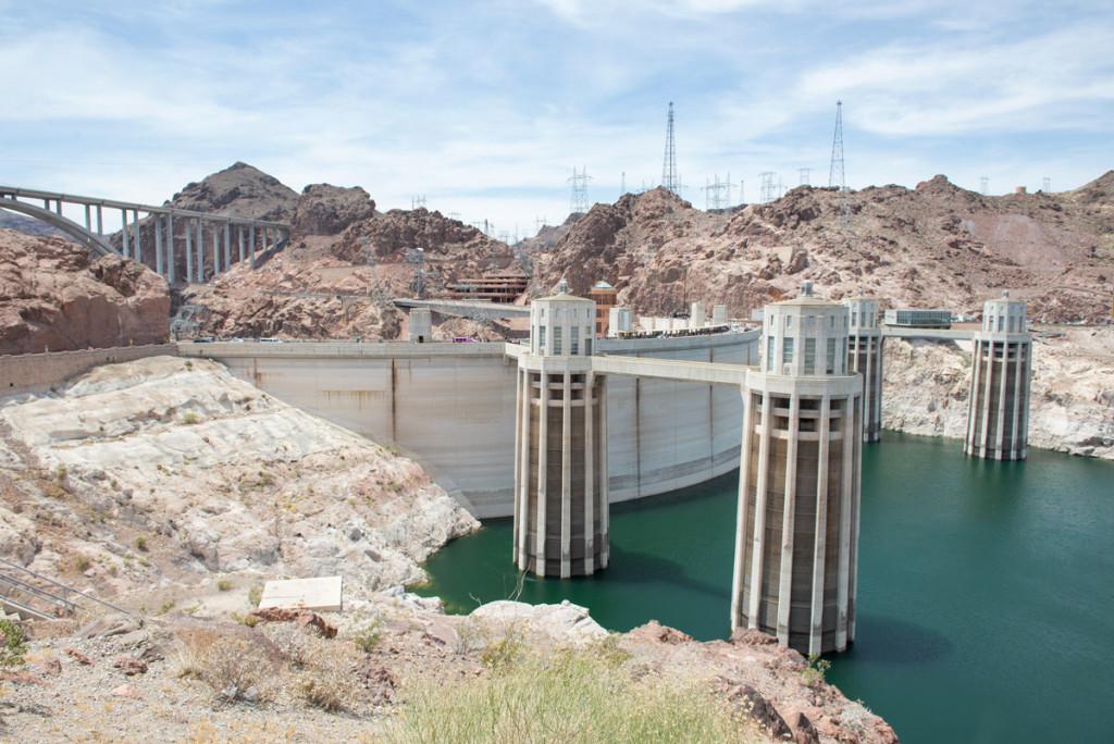 Hooverova přehrada na řece Colorado