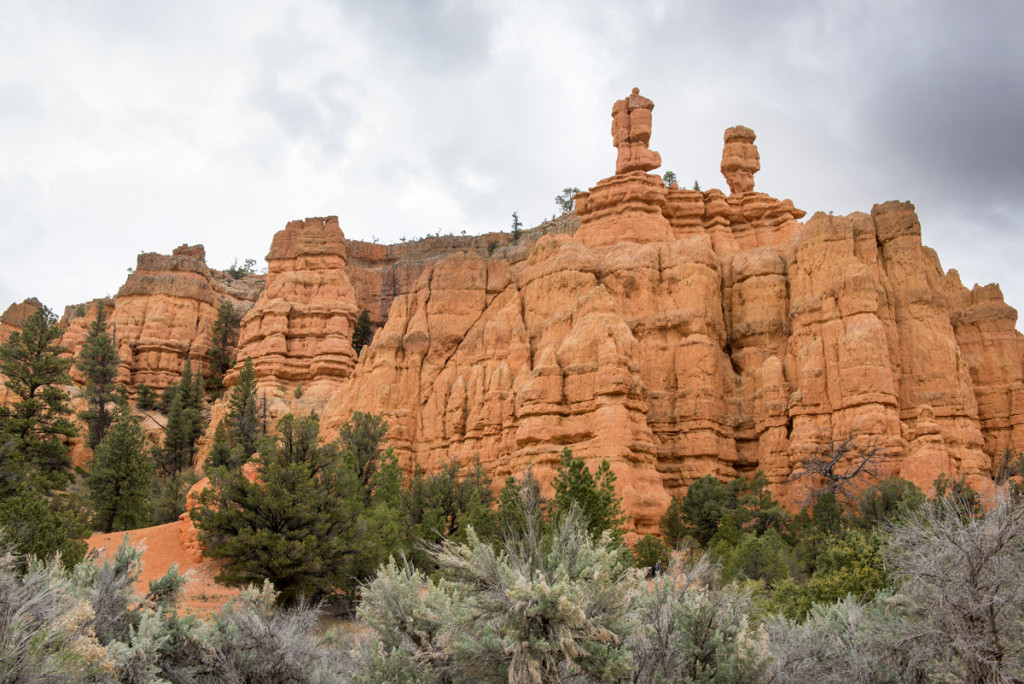 cesta k NP Bryce Canyon