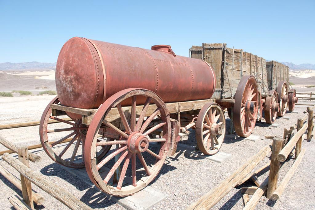 dvacetimulový tým na těžbu boraxu, Údolí smrti, Kalifornie