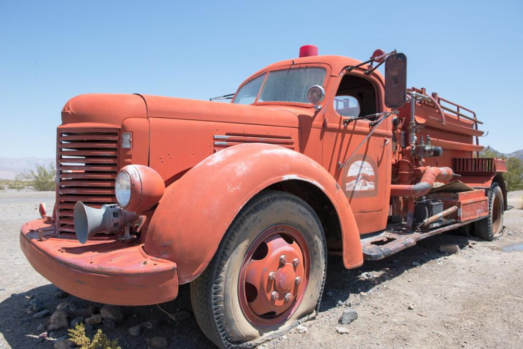 odstaveny hasicsky vuz, Udoli smrti