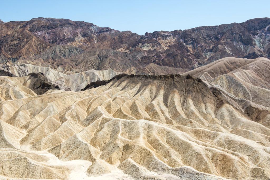Zabriskie point, Údolí smrti, Kalifornie