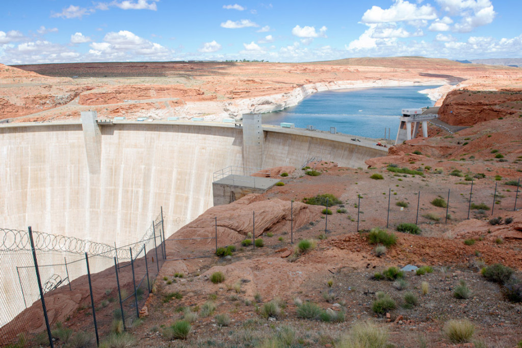 Glen Canyon dam, Page