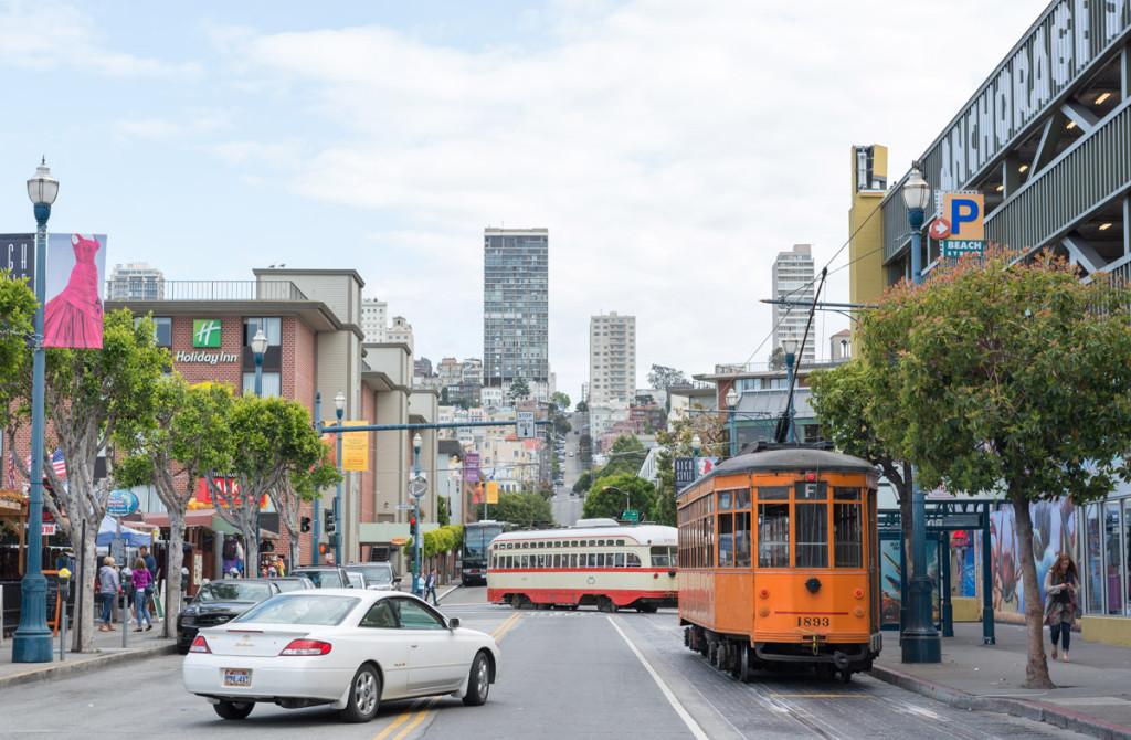 pobřežní ulice, San Francisco