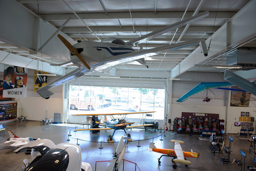 experimentalni Boeing Stearman, Kalifornské muzeum letectvíletoun