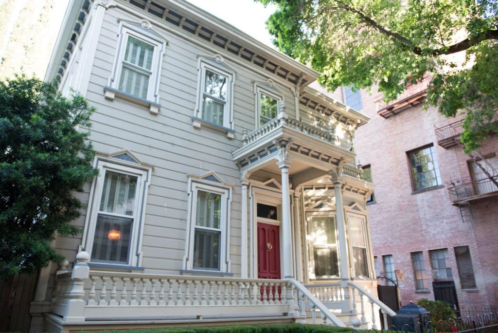 dům ve starém stylu, Sacramento