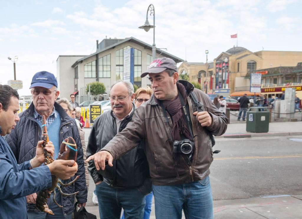 Pouliční prodej humrů, San Francisco