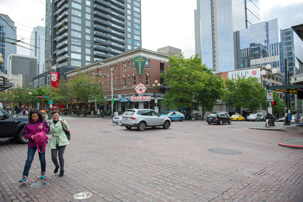 Hostel v Seattlu, USA