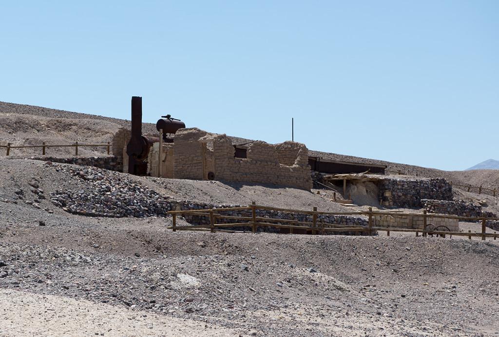 Těžba boraxu v Údoli smrti