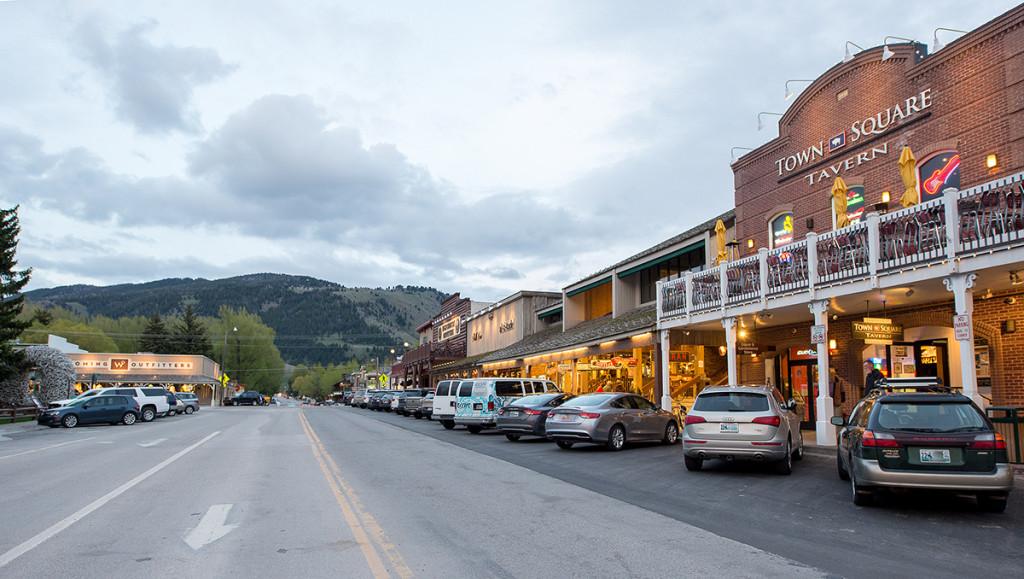 Městečko Jackson Hole