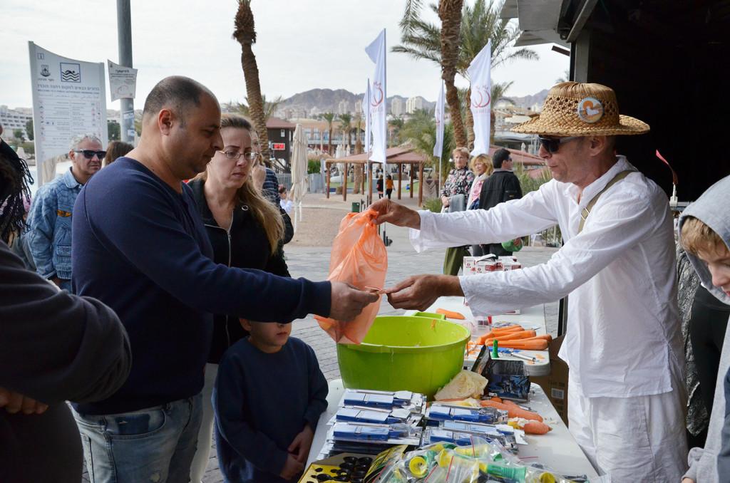 Pouliční obchod, Eilat, Izrael