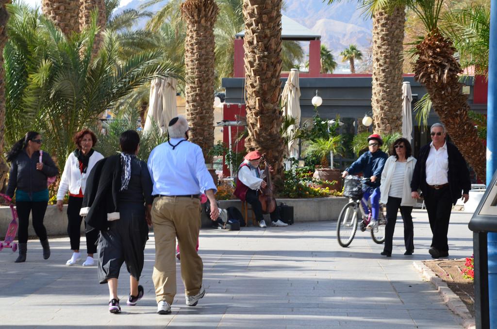 promenáda v Eilatu