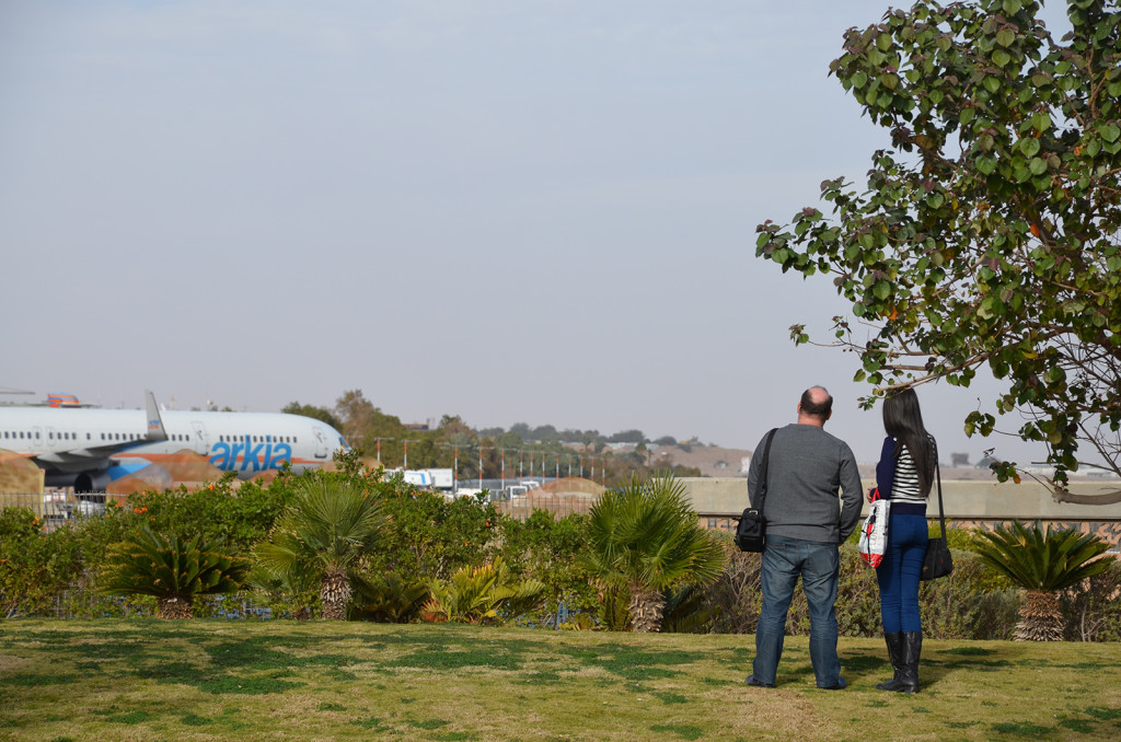 spotovací místo v Eilatu