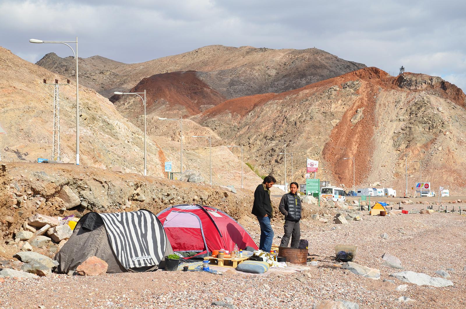alternativní ubytování v Eilatu