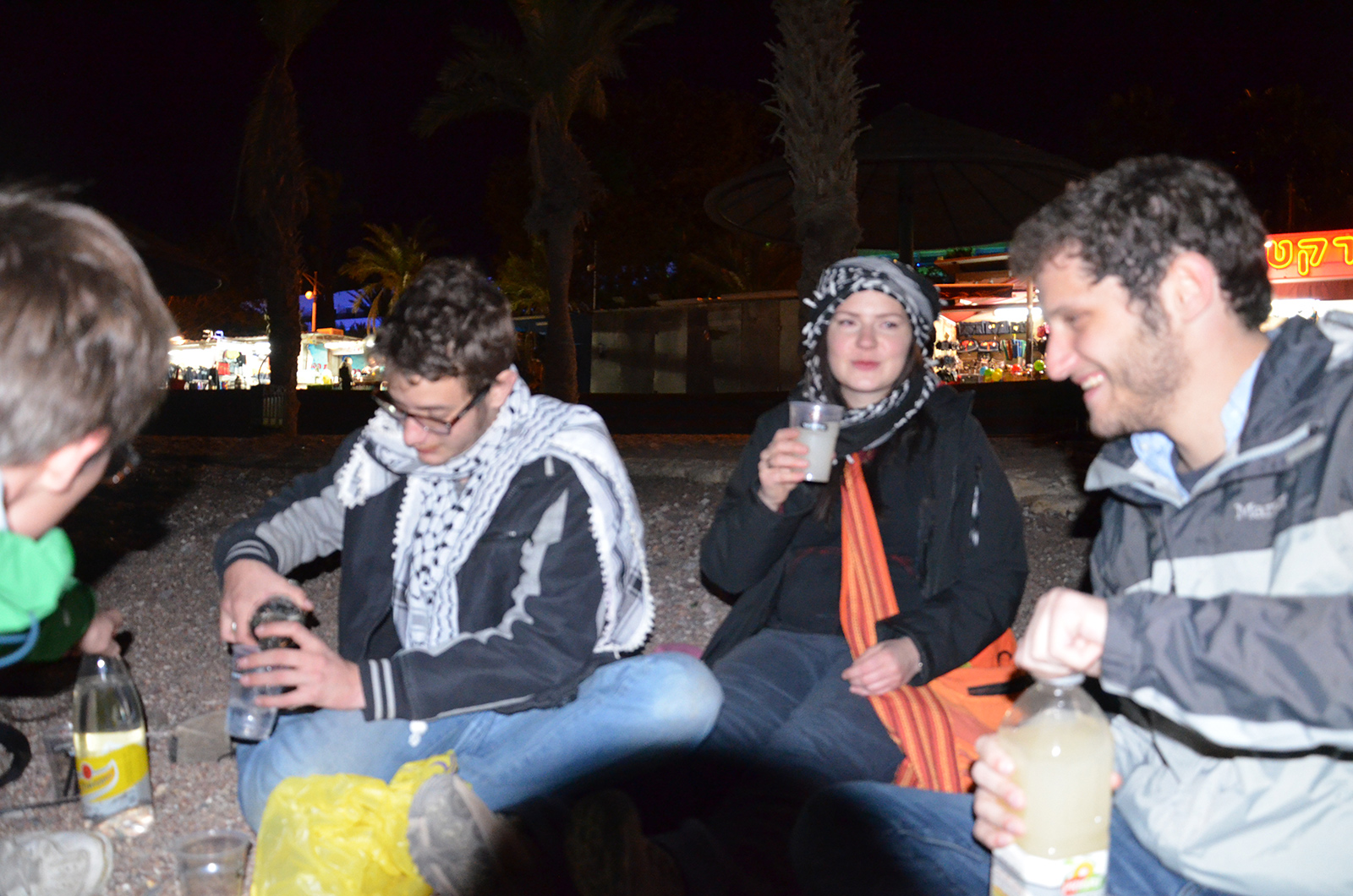 mezinárodní plážová párty, Eilat, Izrael