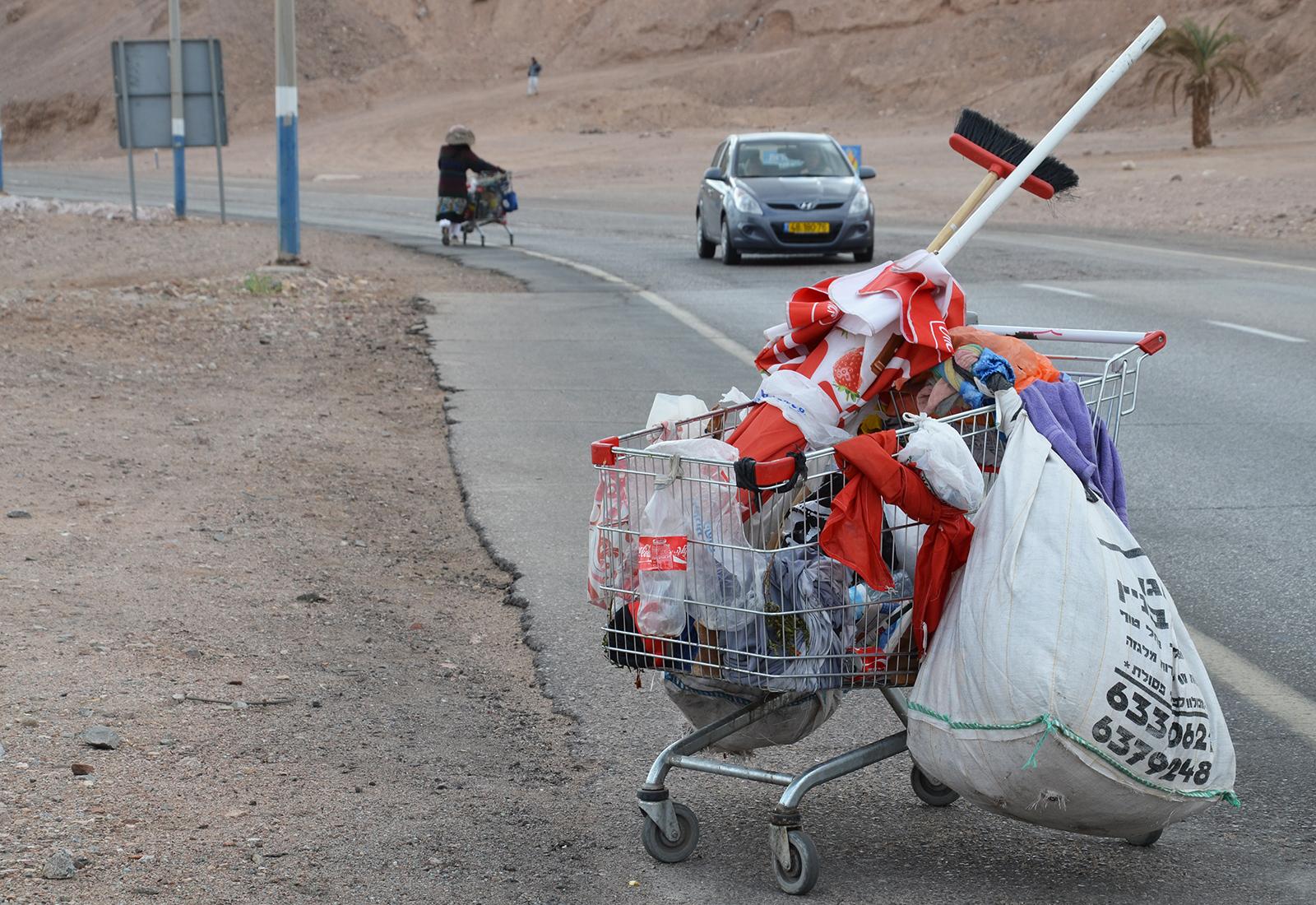 tak trochu jiné nakupování, Eilat, Izrael