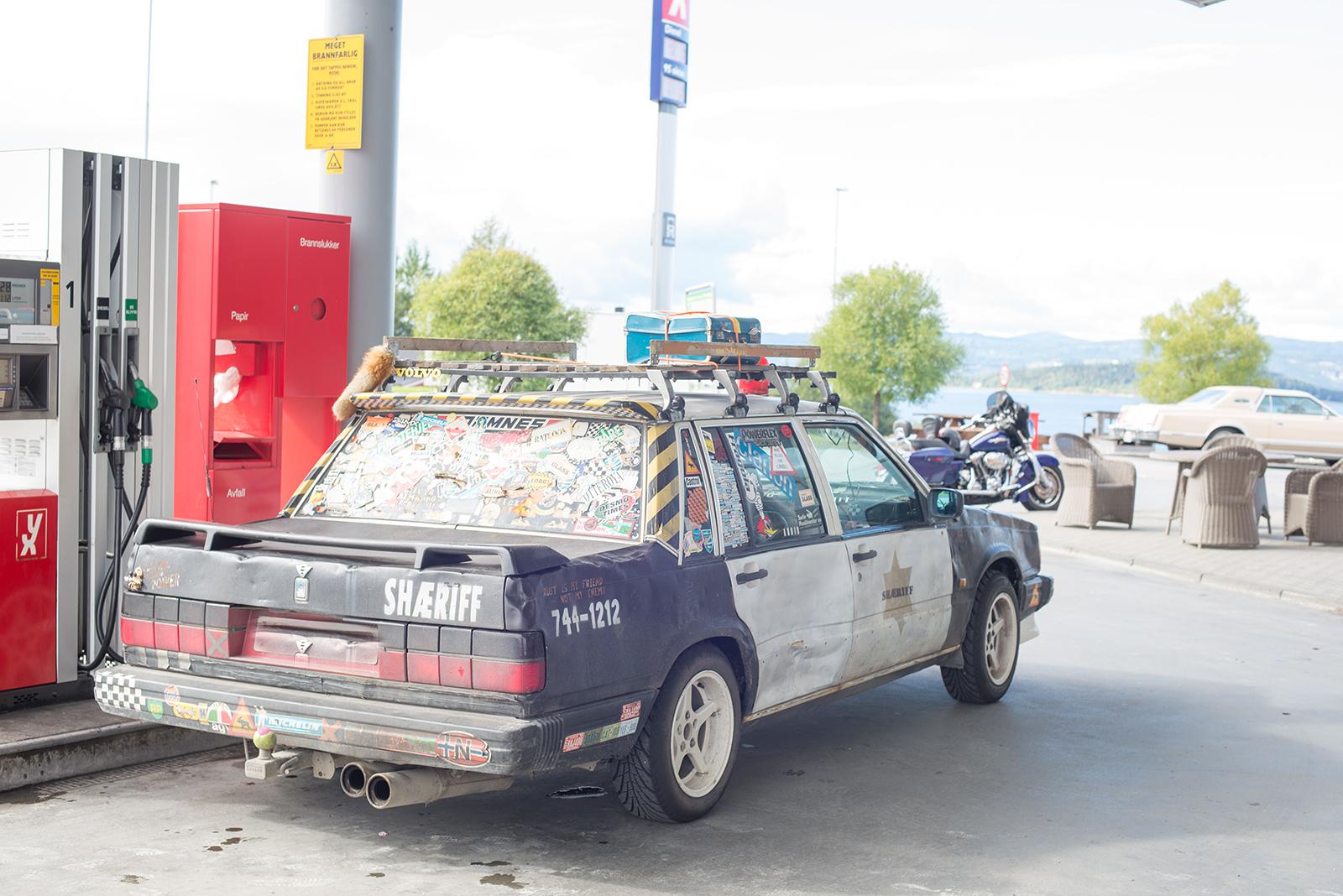 Volvo s čírem