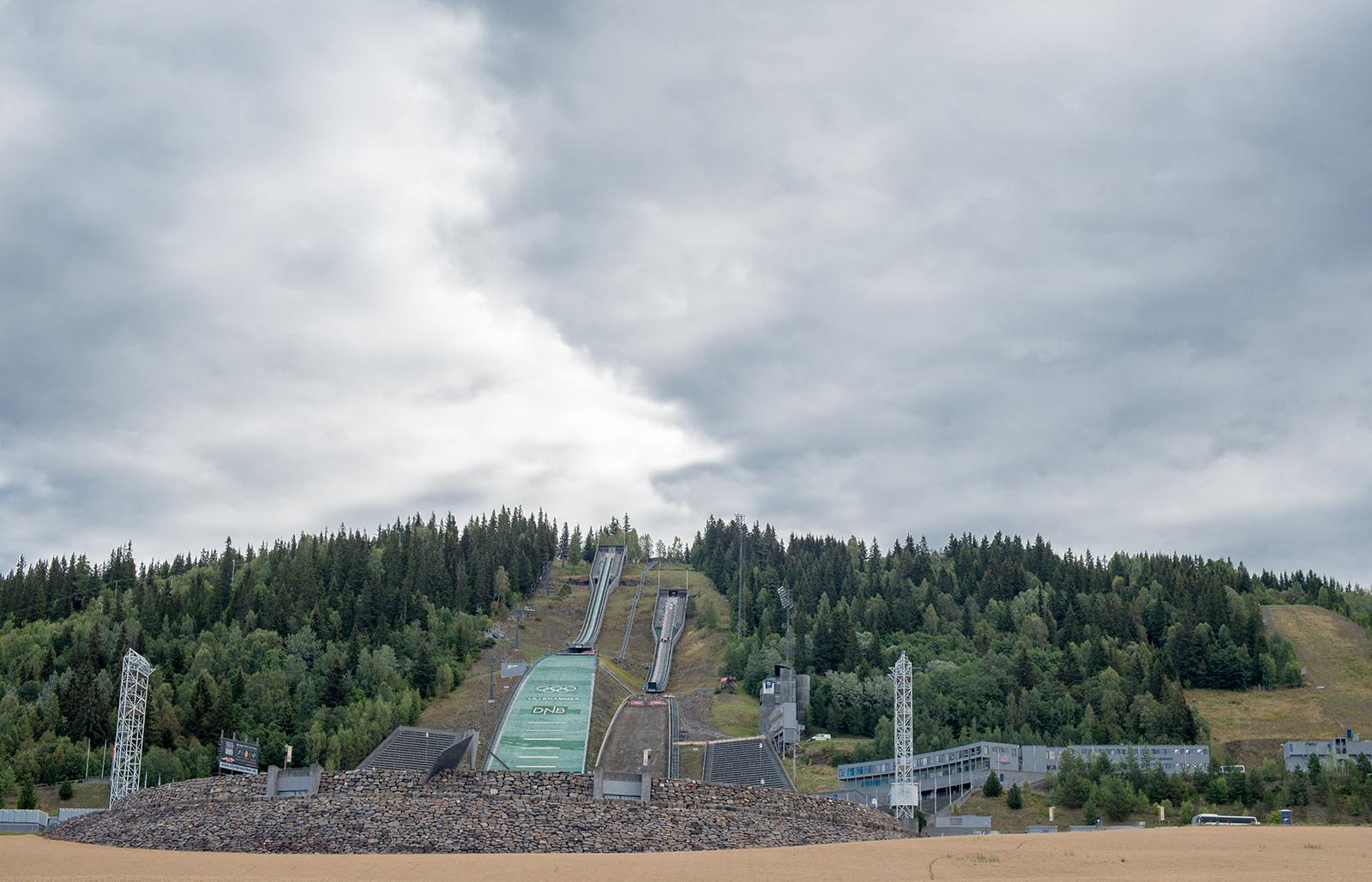 Olympijské můstky v Lillehammeru, Norsko