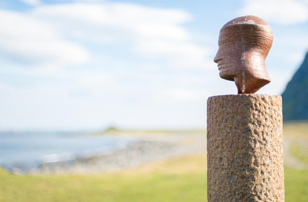 Hlava od Markuse Raetze, Eggum, Norsko