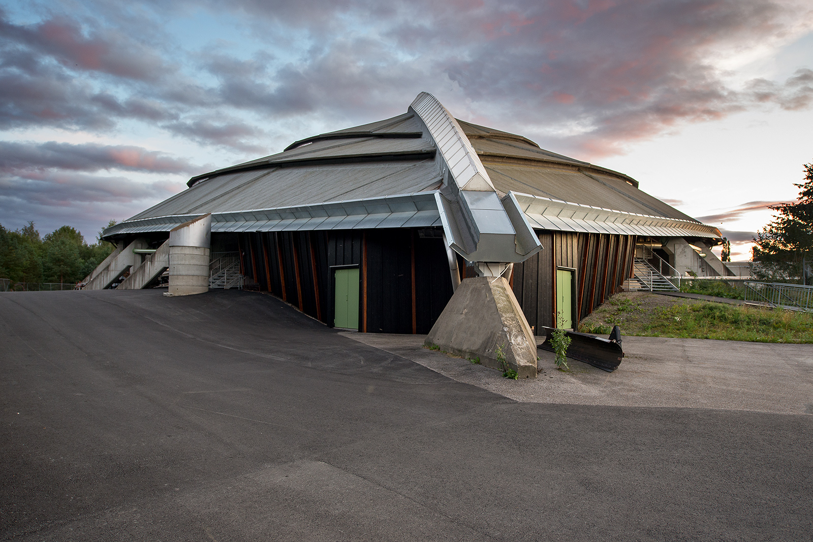 Olympijská hala v Hamaru, Norsko