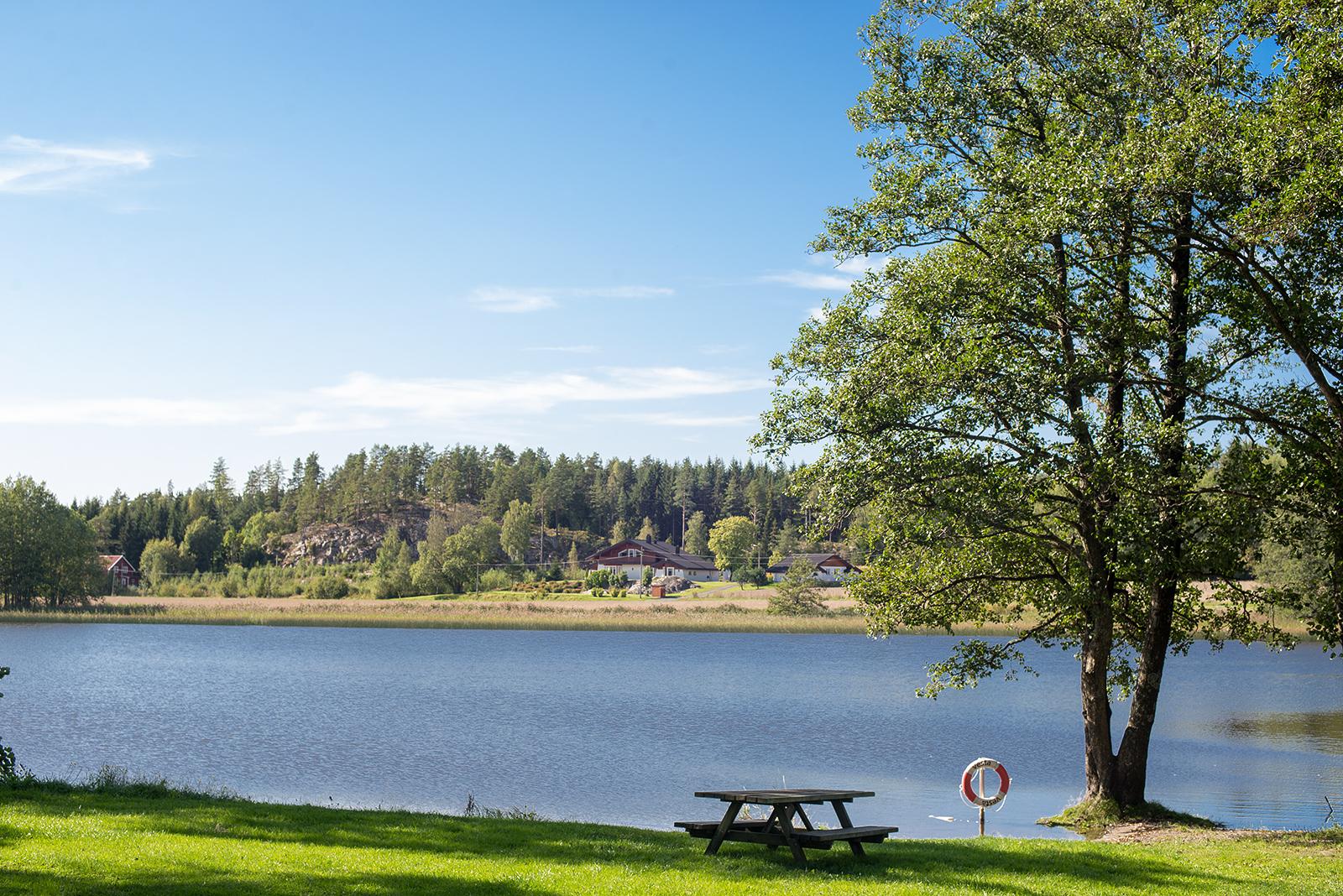 Odpočívadlo Rodsund, norsko