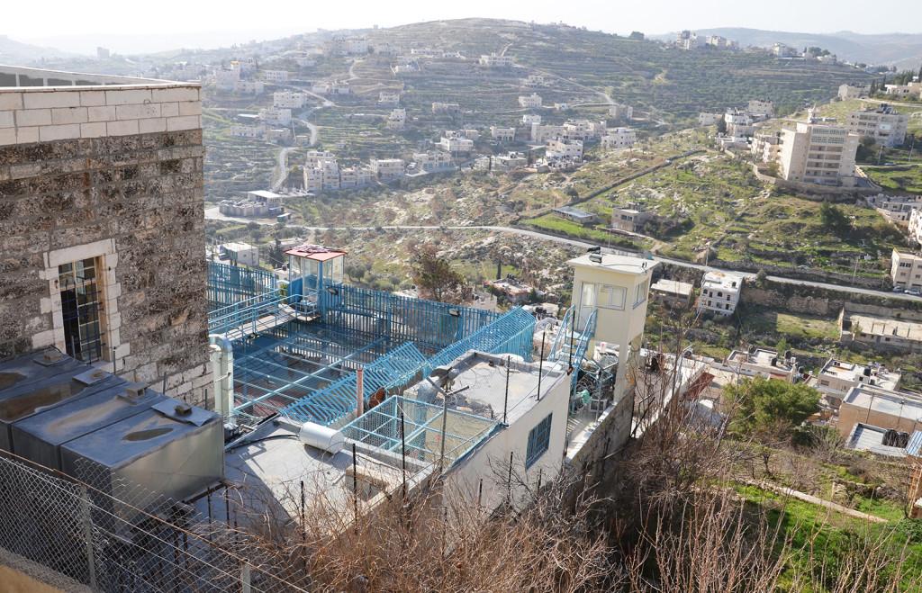 Vězení v Betlémě, Západní Břeh