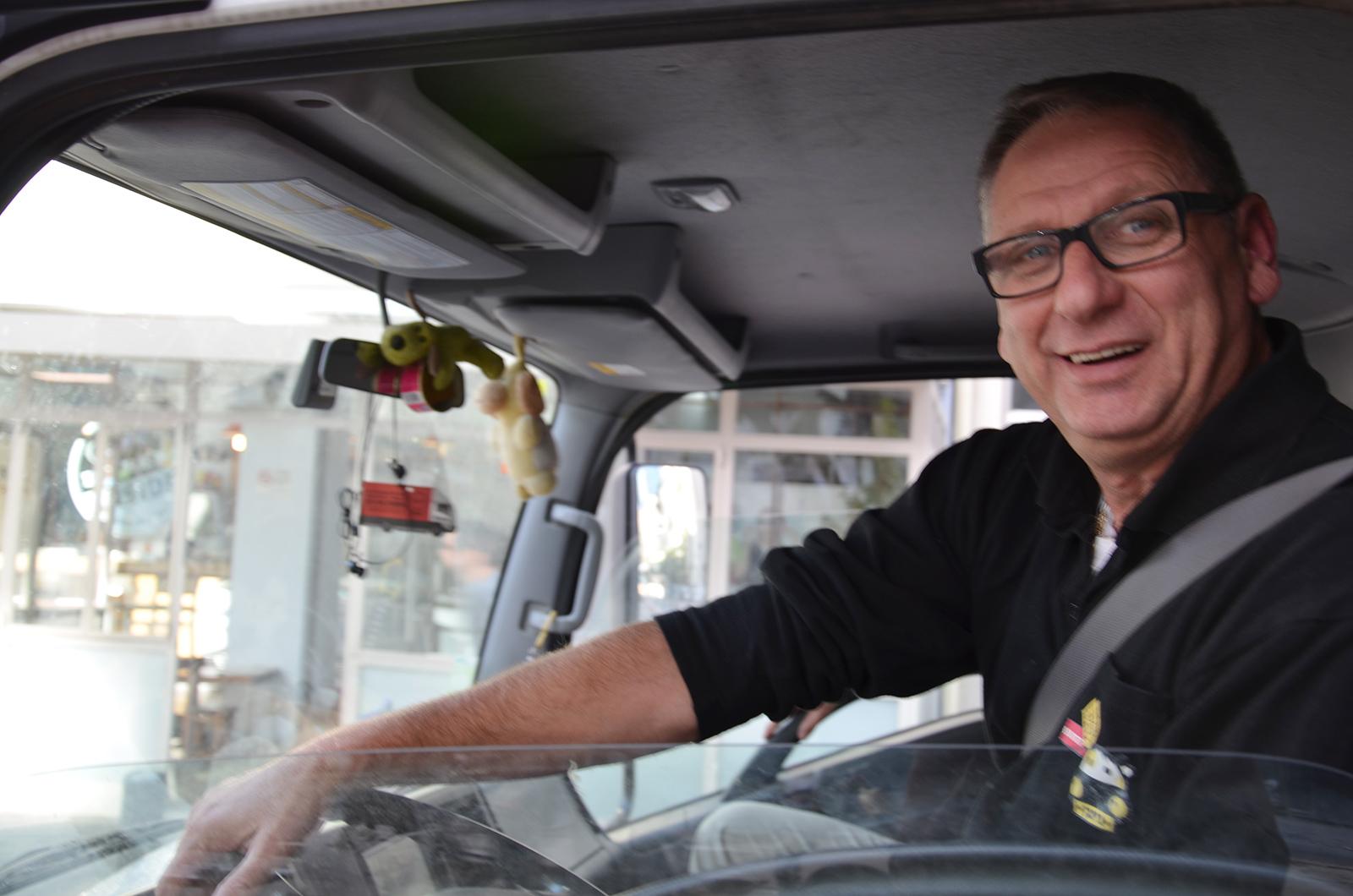 sympatický to Tel-Avivský řidič, Izrael