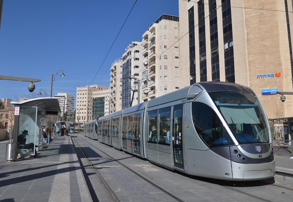 supermoderní jeruzalémské tramvaje, Izrael