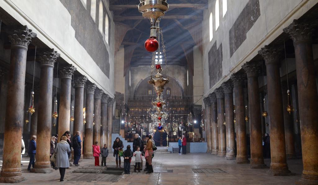 Chrám narození Páně, Betlém, Západní Břeh