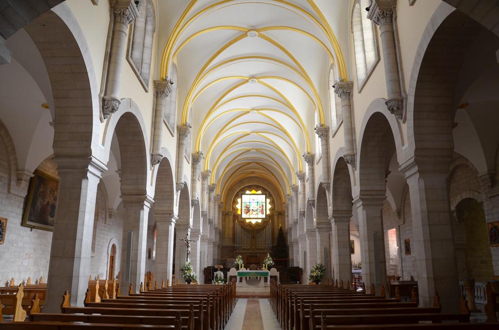 Kostel sv. Kateřiny, Betlém, Západní Břeh