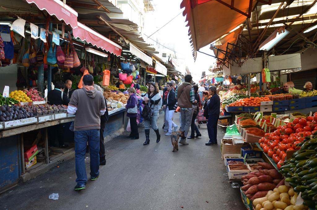 Karmelský trh, Tel-Aviv, Izrael