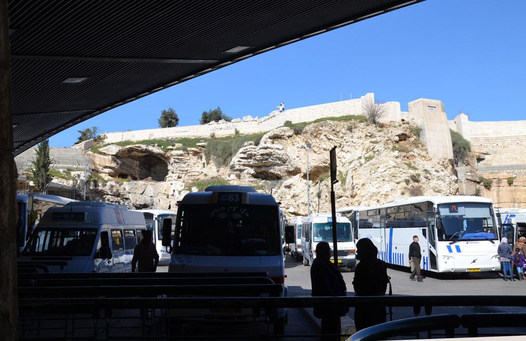 Arabské autobusové nádraží v Jeruzalémě, Izrael