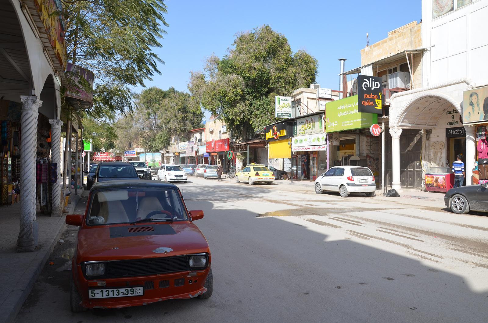 Nové město Jericho, Západní Břeh