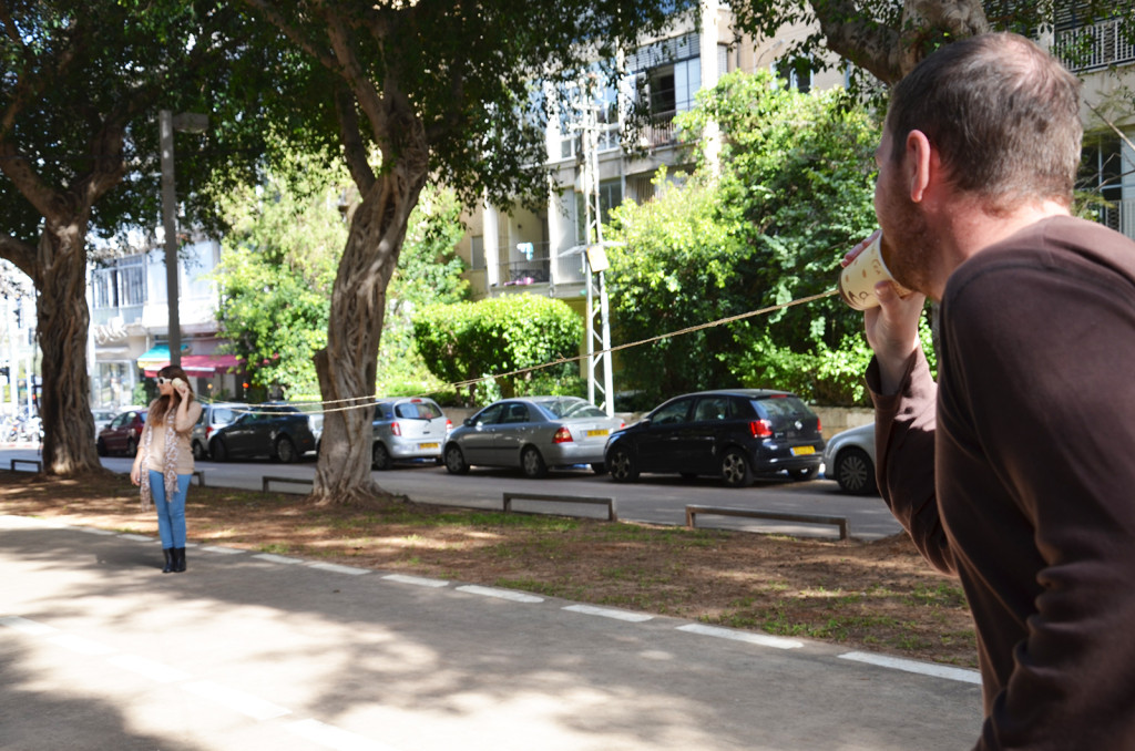 projekt komunikace, třída Chen, Tel-Aviv, Izrael