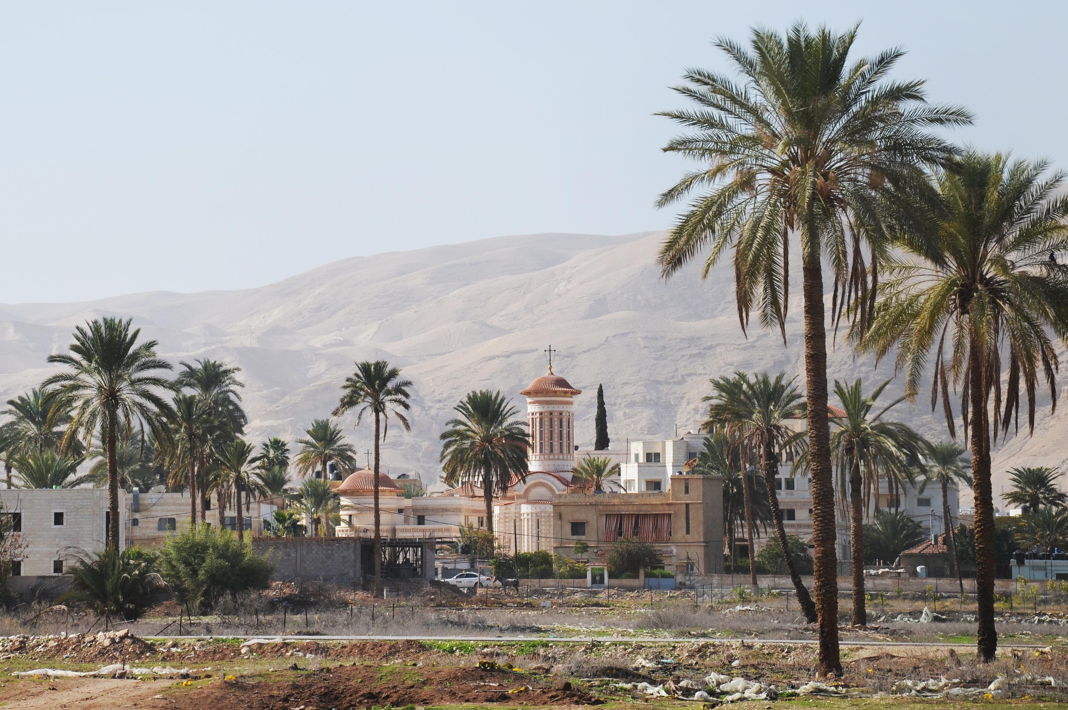 Krásné to Jericho, Západní Břeh