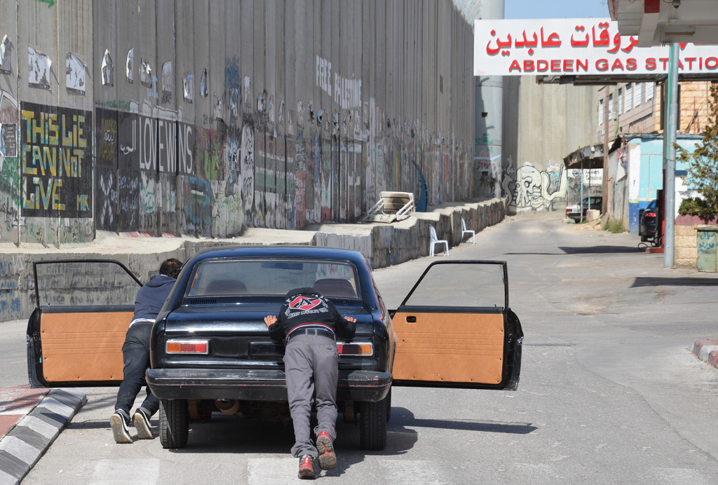 Došel benzín, Betlém, Západní Břeh
