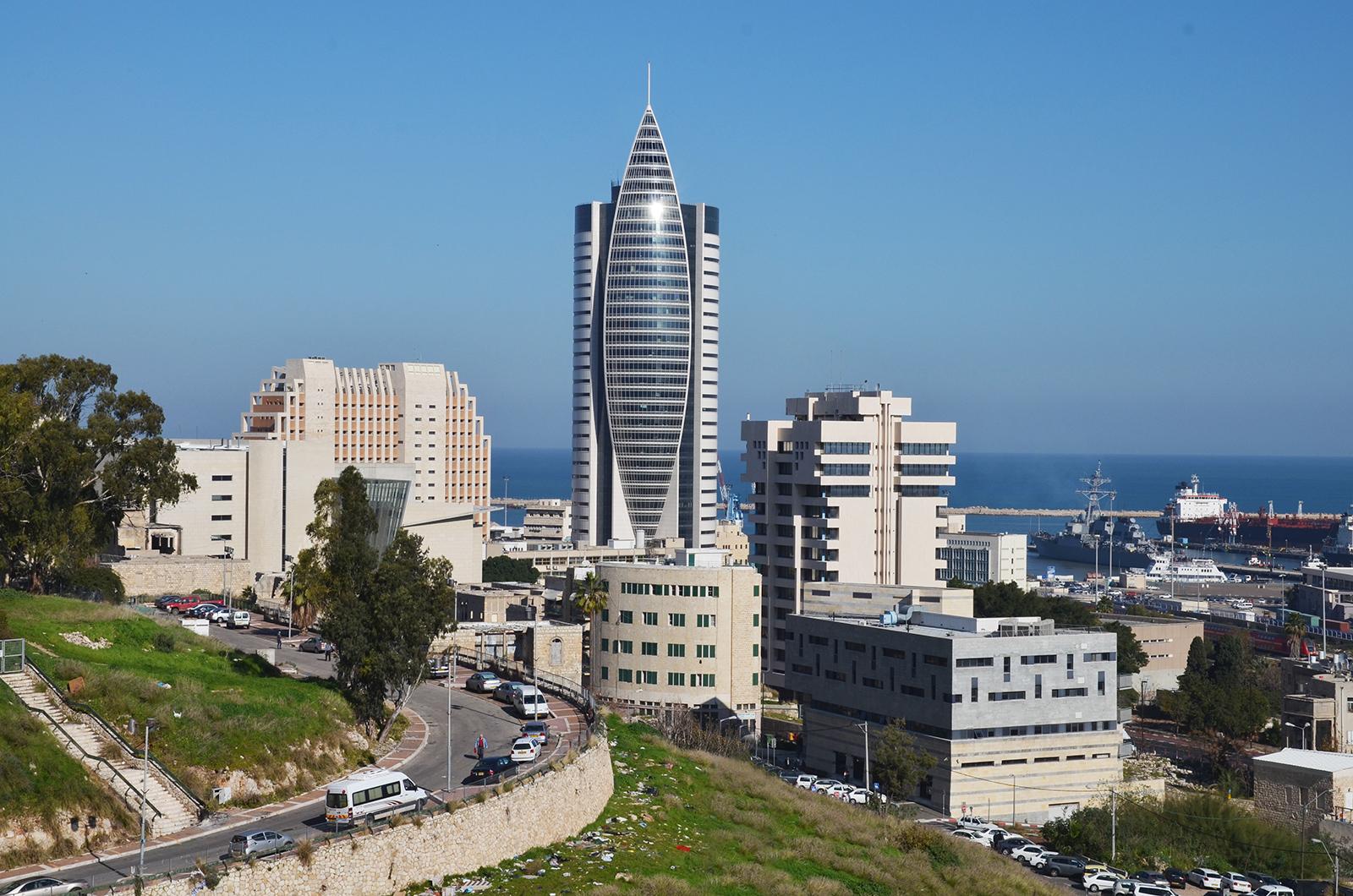přístavní město Haifa, Izrael